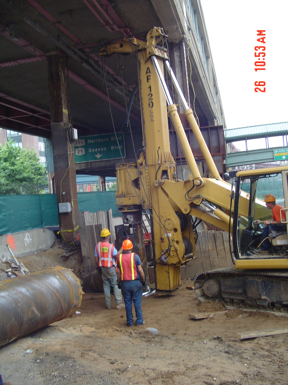 Low Overhead Large Dia. Drilled Caissons