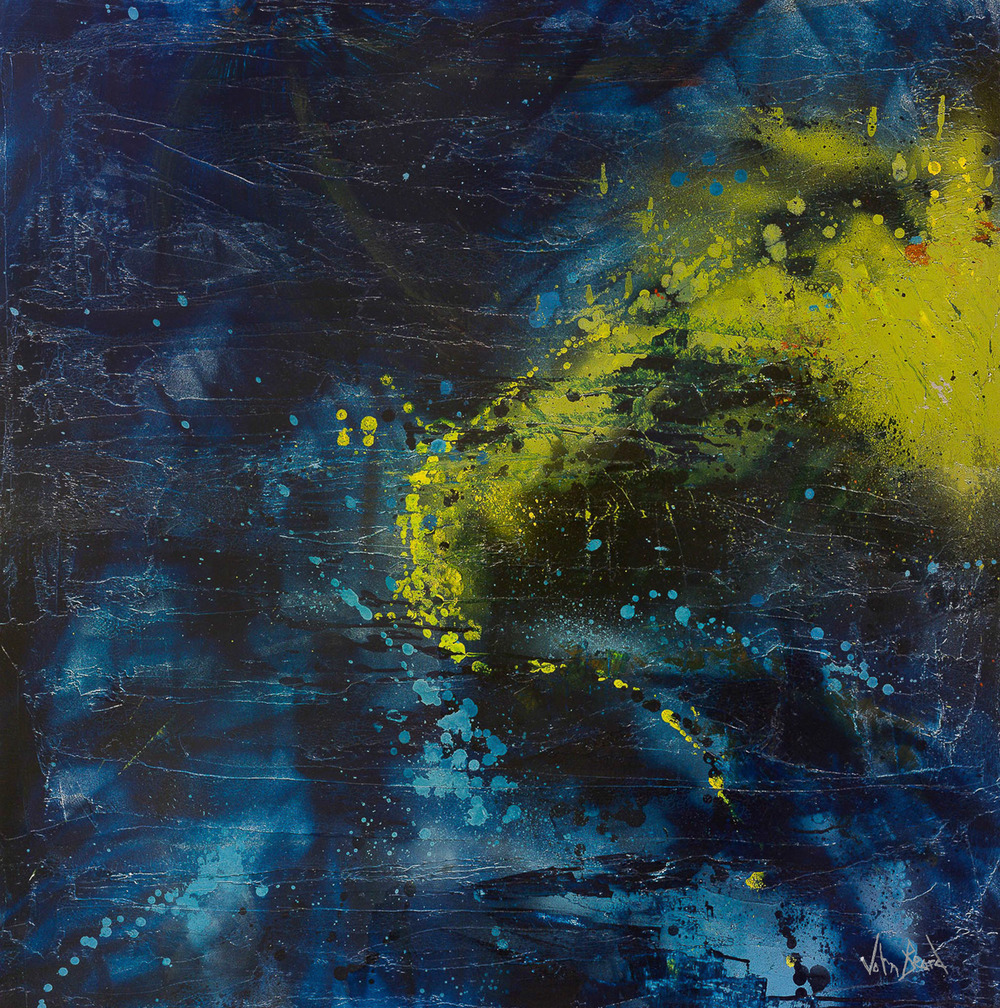 Night Sky by John Beard, 48x48