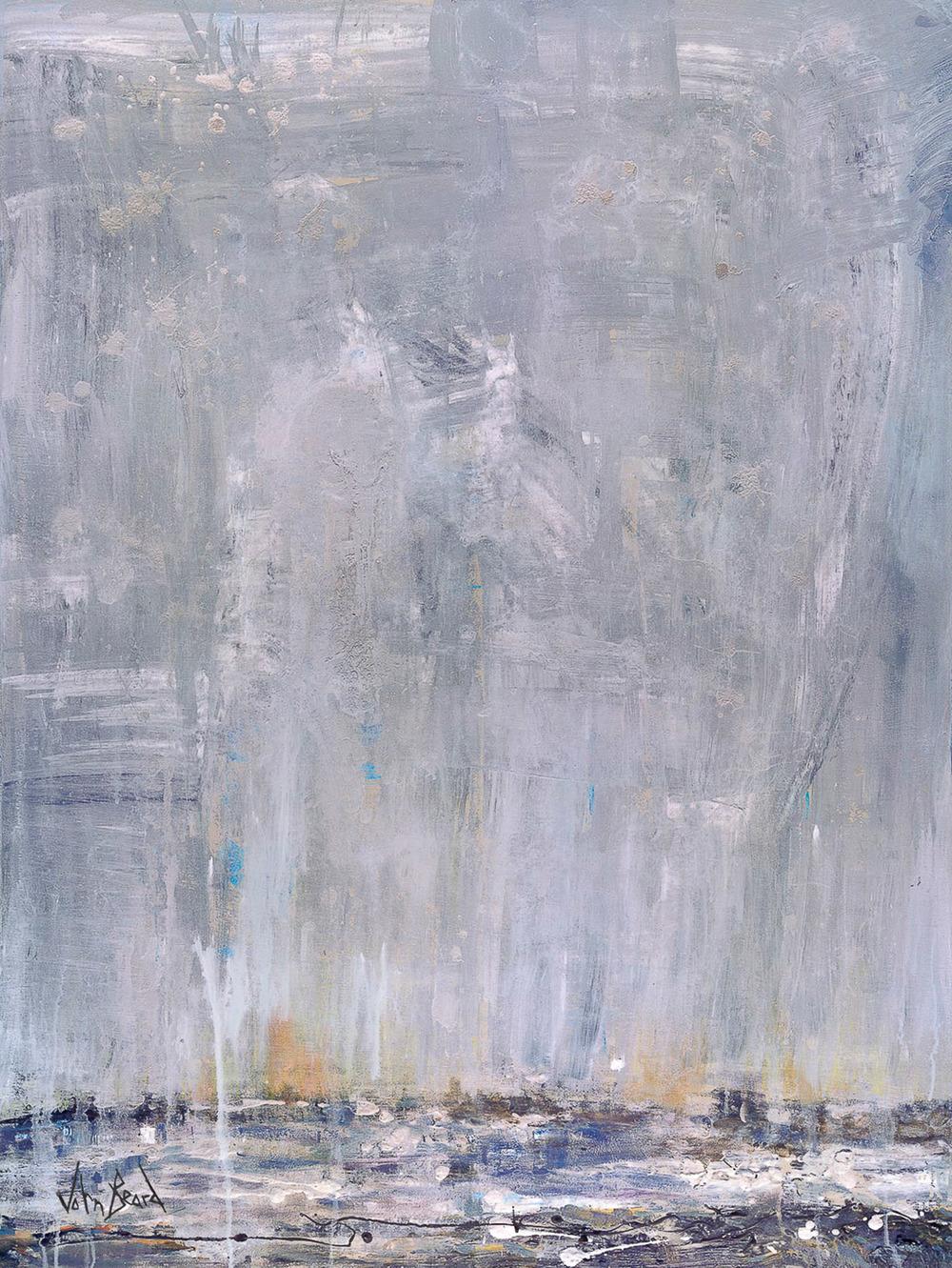 Blue Rain by John Beard, 40x60