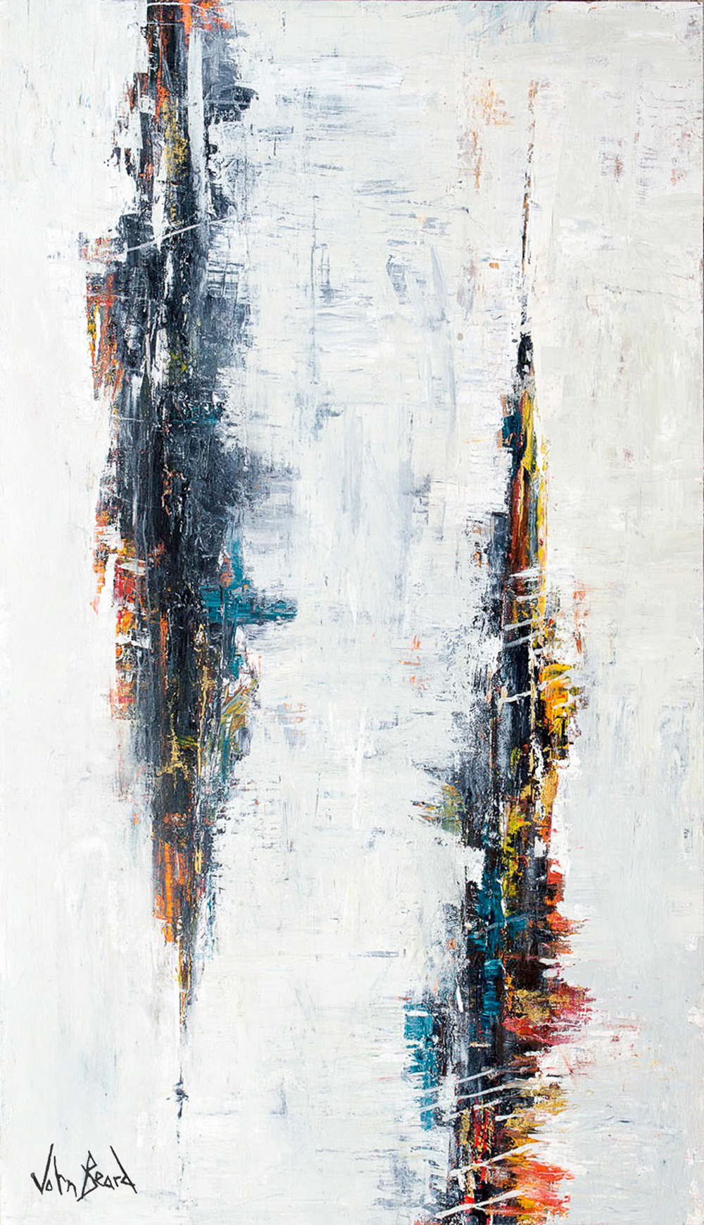 Distortion by John Beard, 48x90
