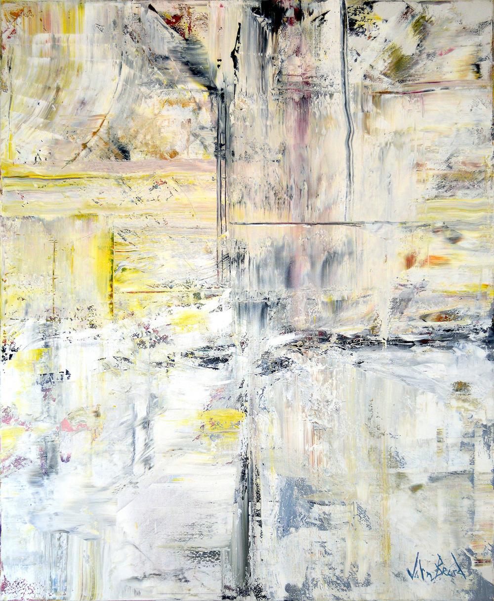 Platina e Amarelo by John Beard, 60x72