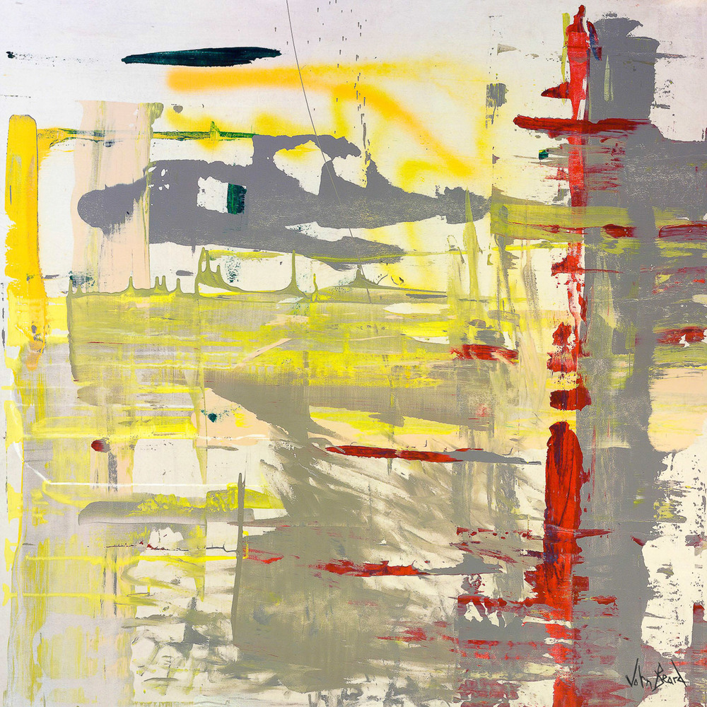 Red Yellow Grey by John Beard, 48x48