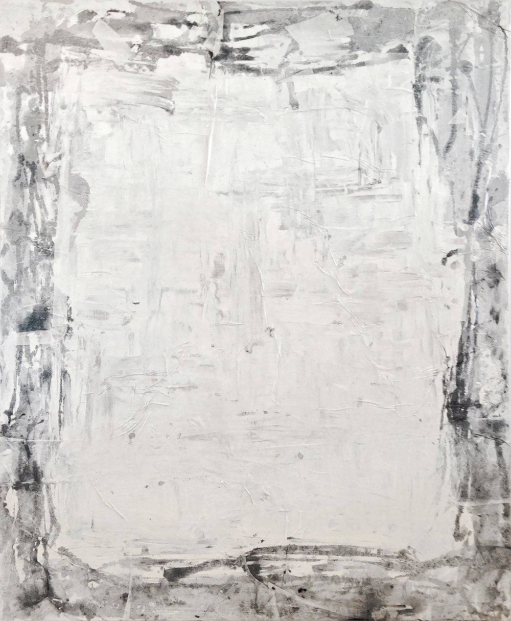 "Bianco II by John Beard, 48""x60"""
