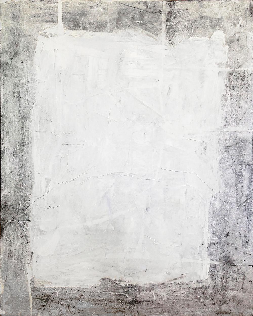 "Bianco III by John Beard, 48""x60"""