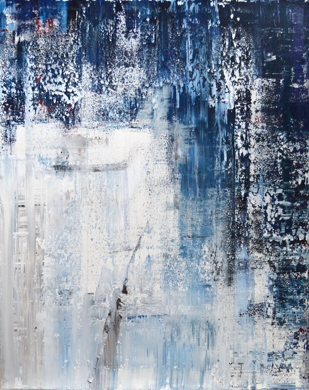 Deep Blue by John Beard, 48x60