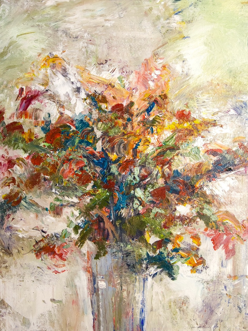 """""""Flowers Bloom"""" by John Beard, 36x48. Inquire about availability at johnbeardfineart@icloud.com"""