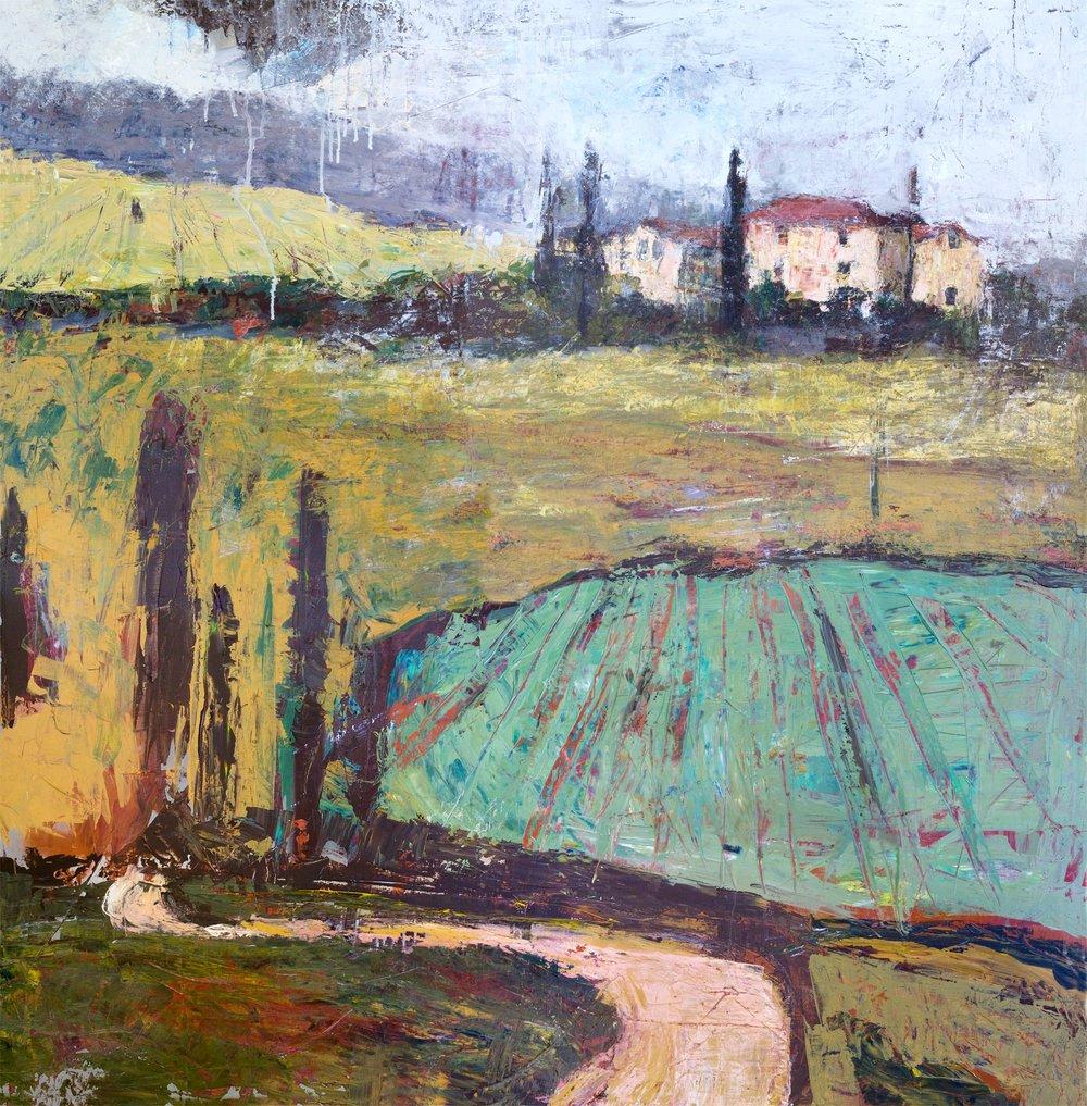 Tuscan Plowed Field by John Beard.jpg