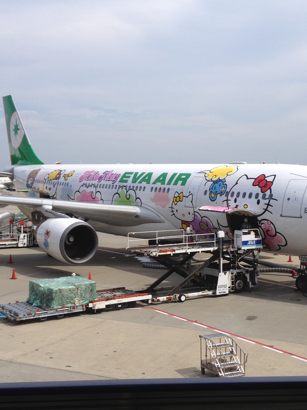 Because it only makes sense to end this with a Hello Kitty airplane. Even air transit doesn't have to be taken so seriously.