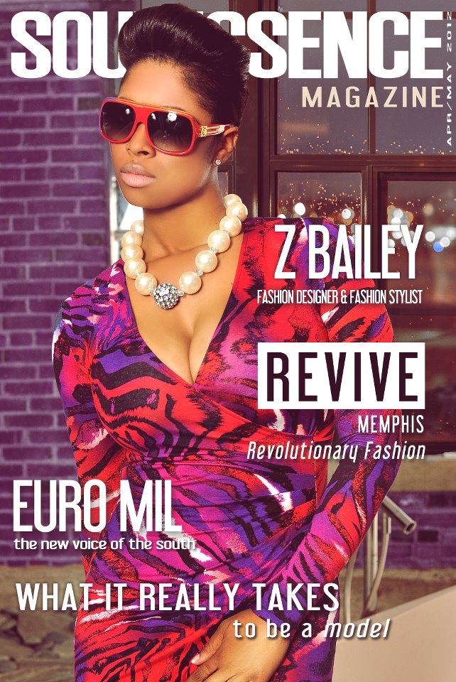 Z.Bailey on the cover of Soul Essence Magazine