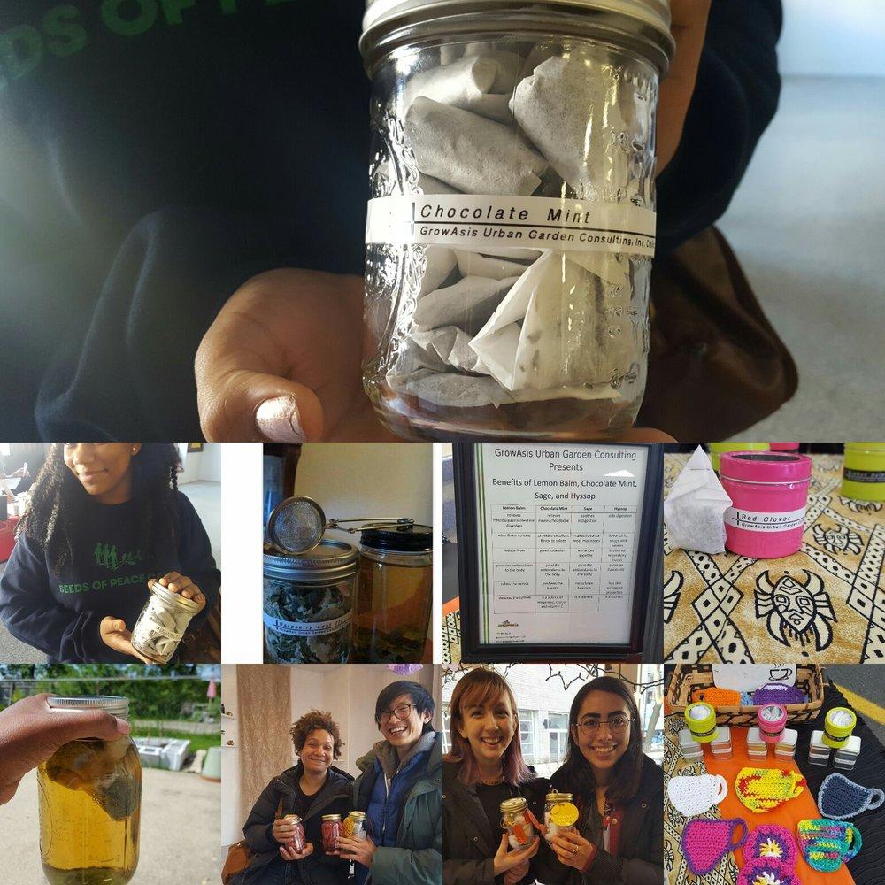 Happy Humble Herbs Tea customers.