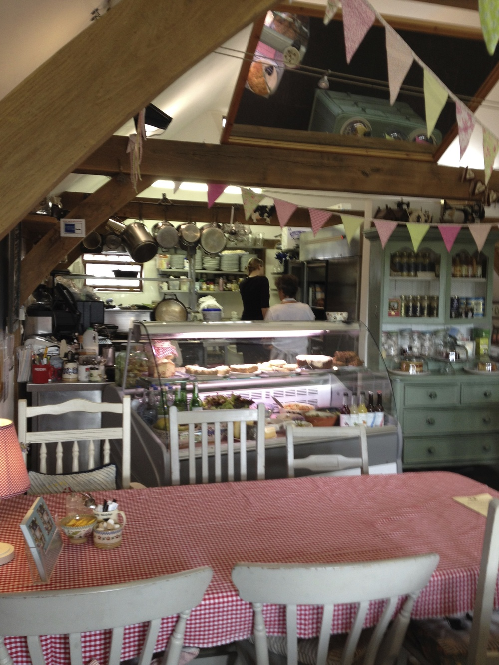 Cowslip's superb cafe