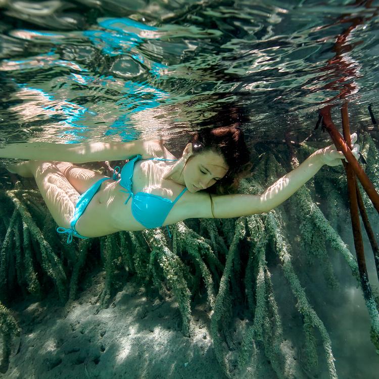 Underwater  U2014 Bahamas Girl