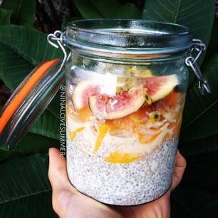 Chia Nit seed Jar