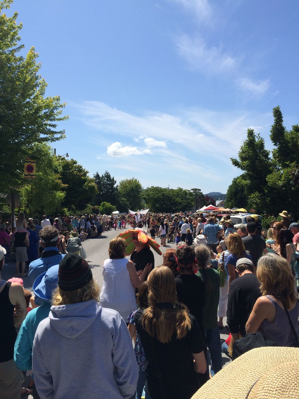 Parade on Orcas Island
