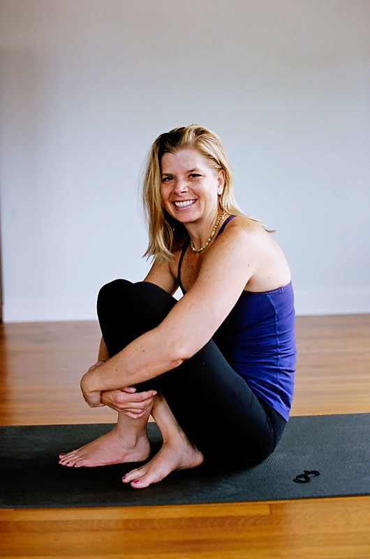 Bonnie Currie Lotus Yoga