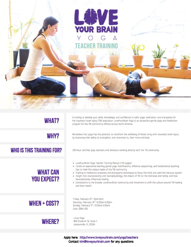 Love Your Brain Yoga Teacher Training Lotus Yoga
