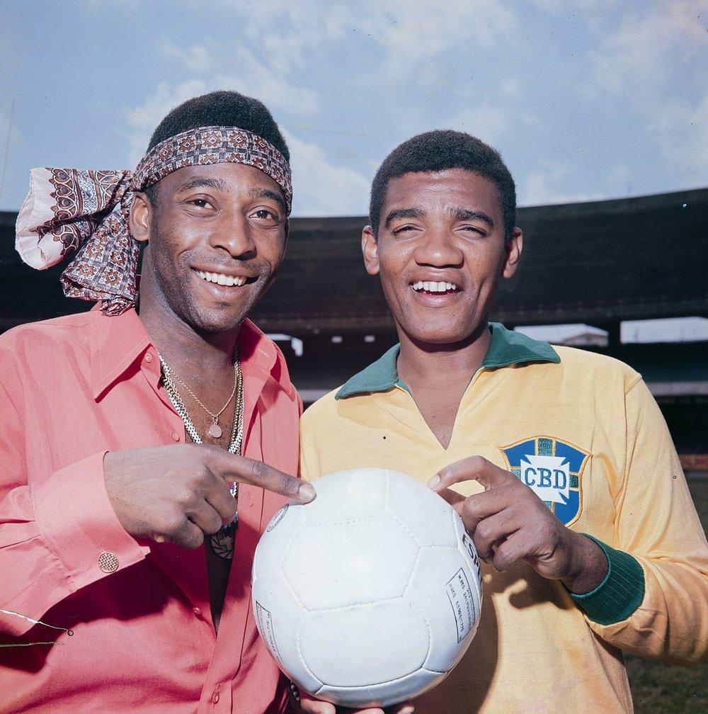 Pele and Wilson Simonal