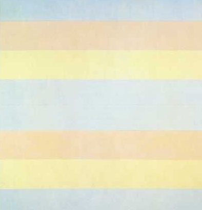 Painting by Agnes Martin