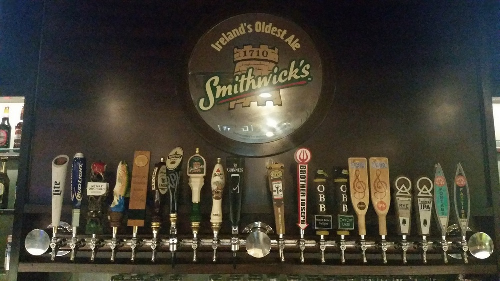 """Maggie Meyers is an Irish Style Pub that prides itself on having over 45 beers available, including a selection of 20 draft beers, many local. We are a true """"Scratch Kitchen""""...we bake the bread, dill the pickles, and corn the beef, all in house. Come taste some of the best food Huntsville has to offer. Lunch specials run Monday-Friday, with a special """"Quick & Dirty"""" Lunch (15 minutes or less) available 11-4pm. Live entertainment every night, including Comedy shows, Karaoke, and Live Bands. Every Wednesday, Friday, and Saturday night, you'll find a Blind Draw Darts Tournament in our game room- We have 8 Steel Tip Boards, 5 Darts Live Machines and 2 pool tables."""