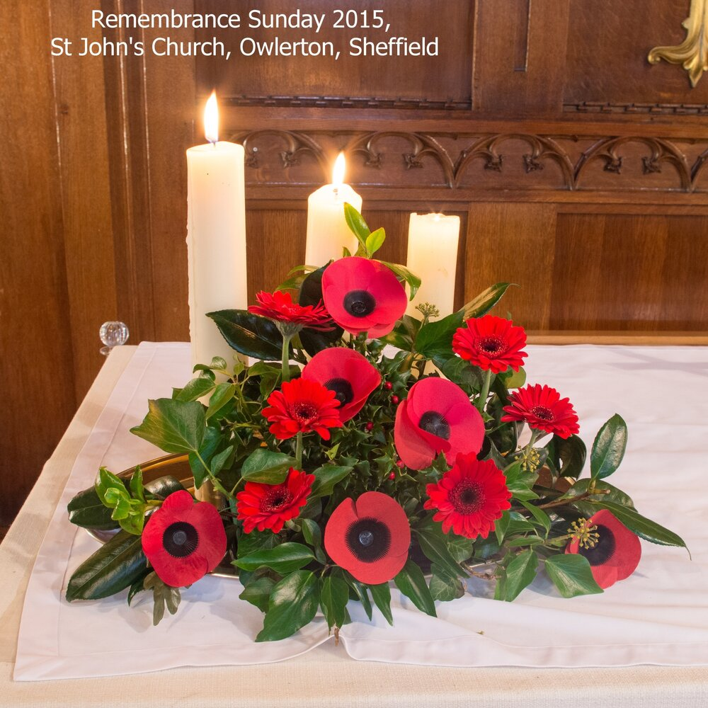 Remebrance Sunday 2915