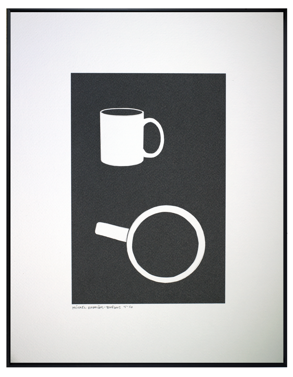 Coffee Cup<br> <br>11x14""