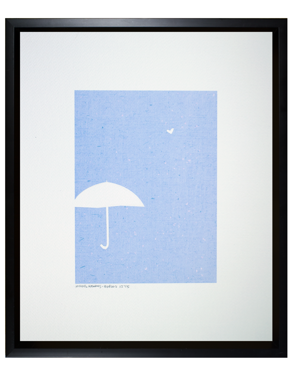Love and an Umbrella<br> <br>11x14""