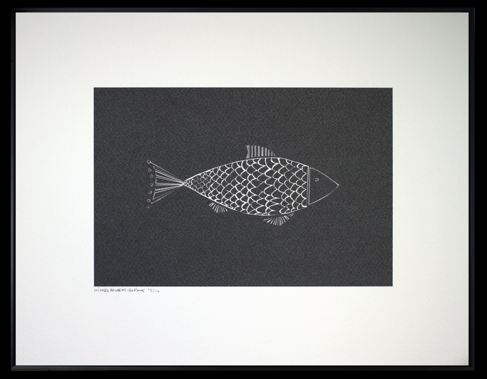"Fish<br> <br>11x14"""
