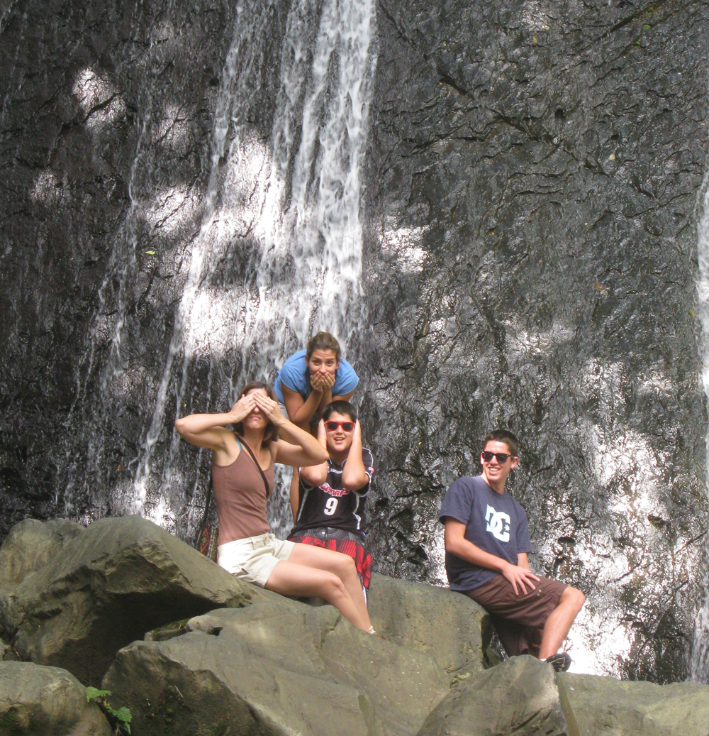 A photo in La Coca waterfall is a must. Photo: Pamy Rojas