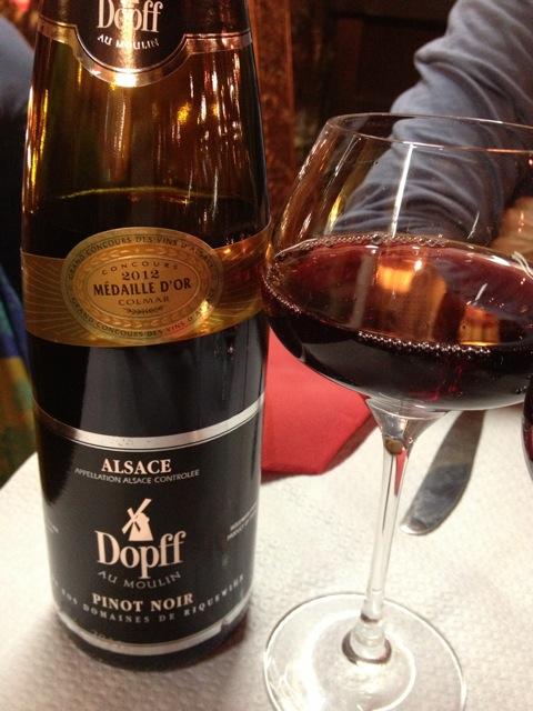 En Alsacia existen unos mil productores de vino, que trabajan con siete tipos de uva: Pinot Noir, Pinot Gris, Gewurztraminer (que componen la oferta de tintos), Riesling, Sylvaner, Pinot Blanc y el Muscat (blancos). Foto: Bruny Nieves