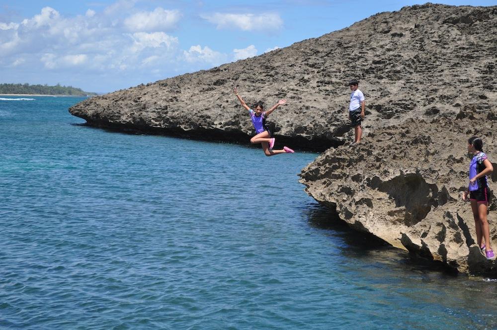 The huge rocks are like an amusement park. Photo: Pamy Rojas