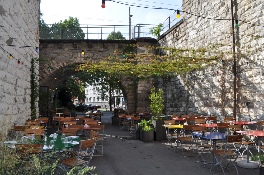 El restaurante Markthalle está localizado en la zona del viaducto. Foto: Pamy Rojas