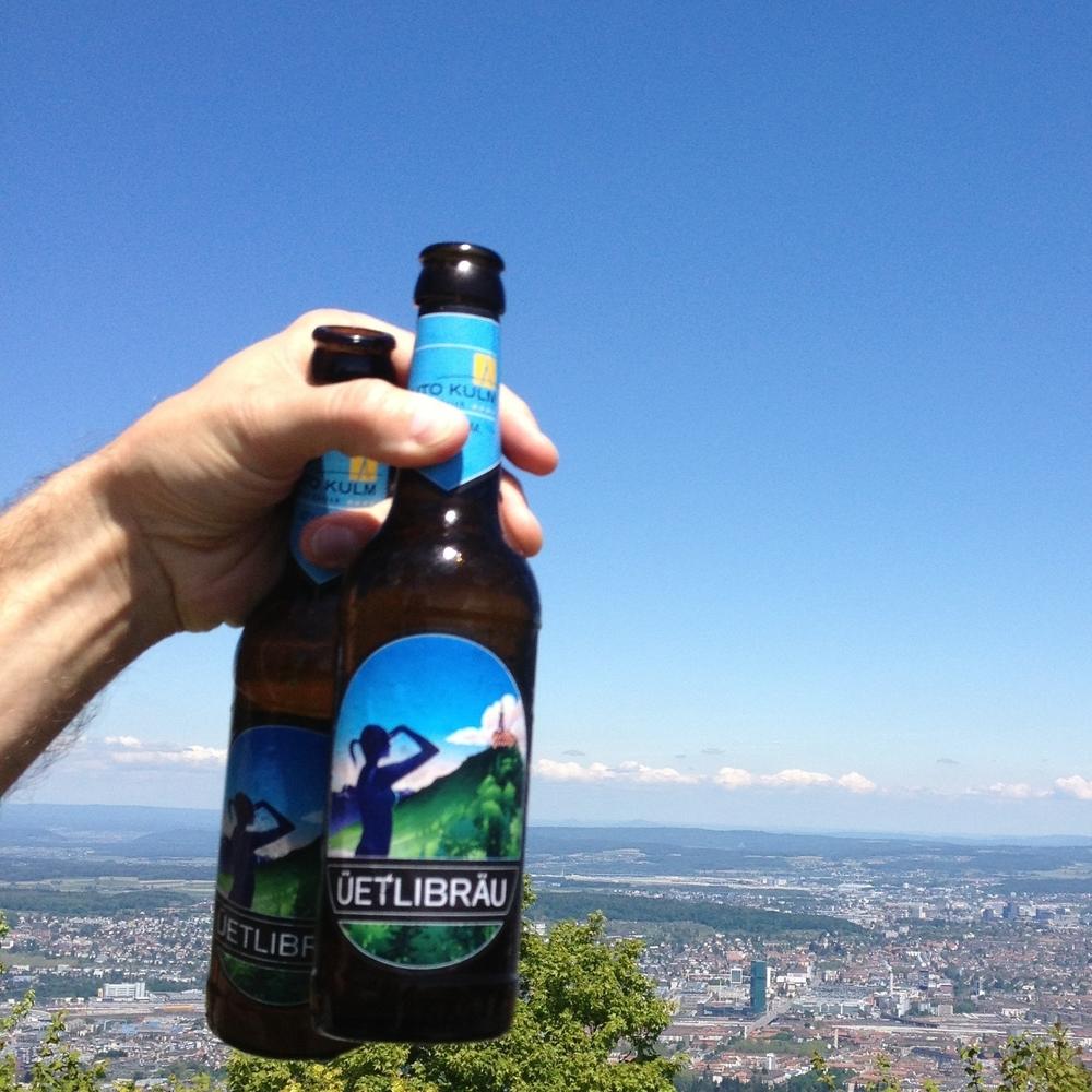 Vista desde el Uetliberg, localizado a mil ochocientos cincuenta pies sobre el nivel del mar. Foto: Bruny Nieves