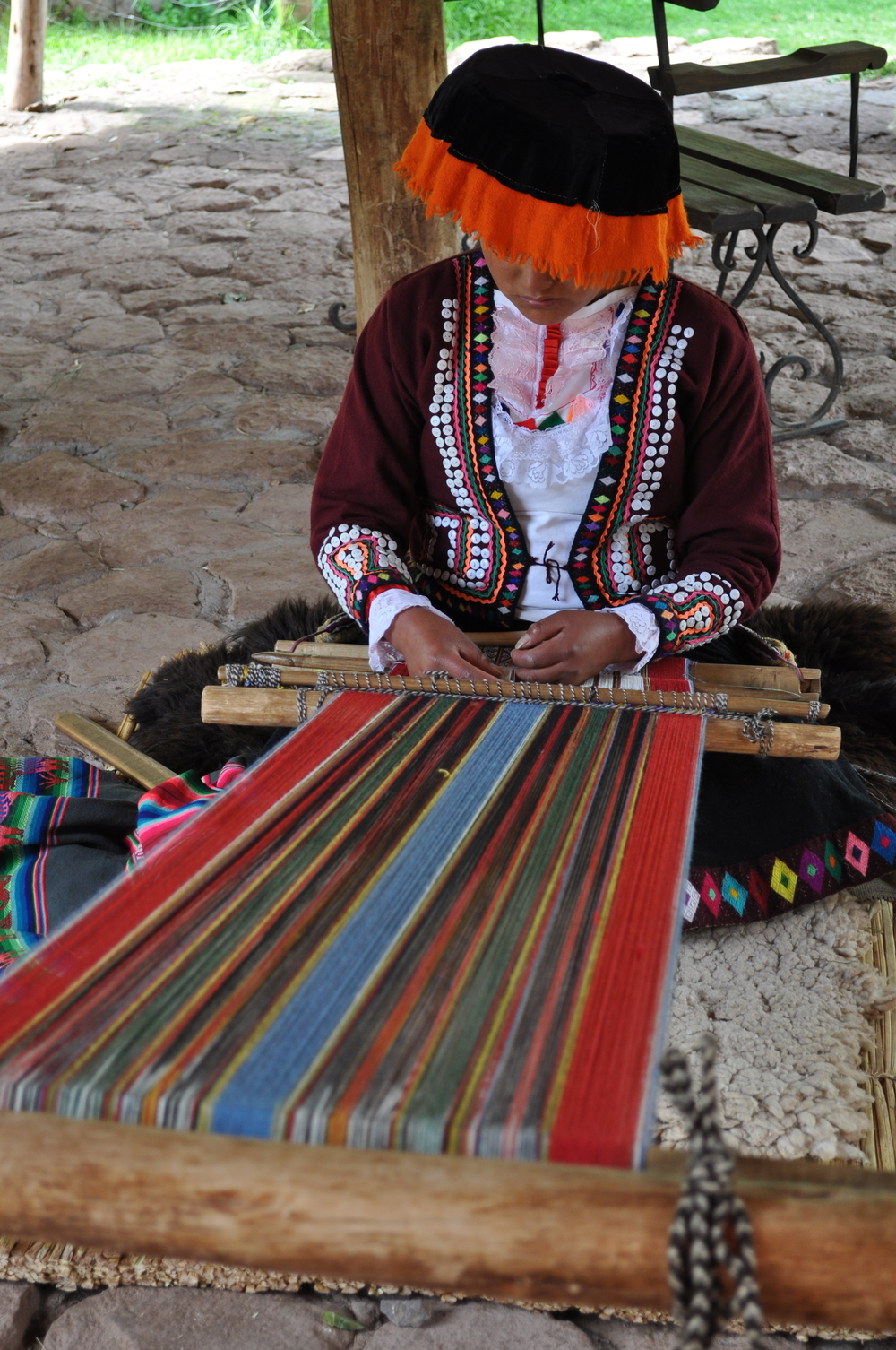 Existen alrededor de treinta y cinco tonos de color de lana de las llamas. Foto: Pamy Rojas