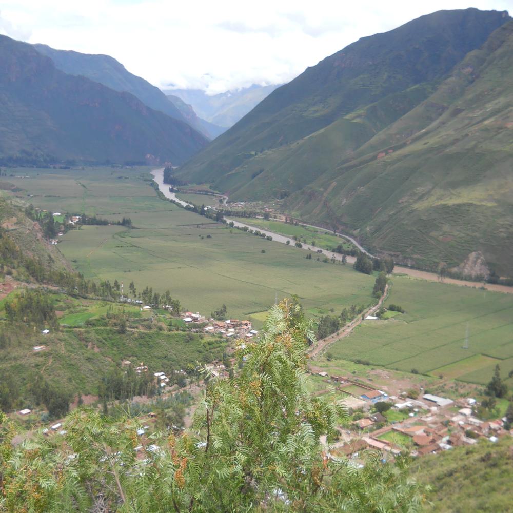 Desde el Mirador de Taray se contempla el Valle Sagrado. Foto: Fernando J. Rojas