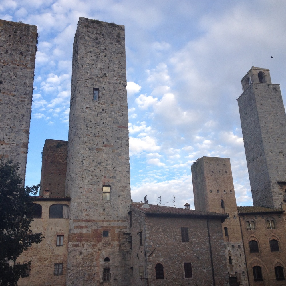 Presently, of the seventy-two original towers, thirteen remain. Photo: Bruny Nieves