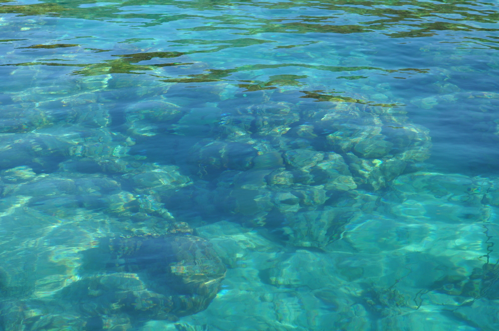 The clear water of Luis Peña Cay; this place is a natural reserve. Photo: Pamy Rojas