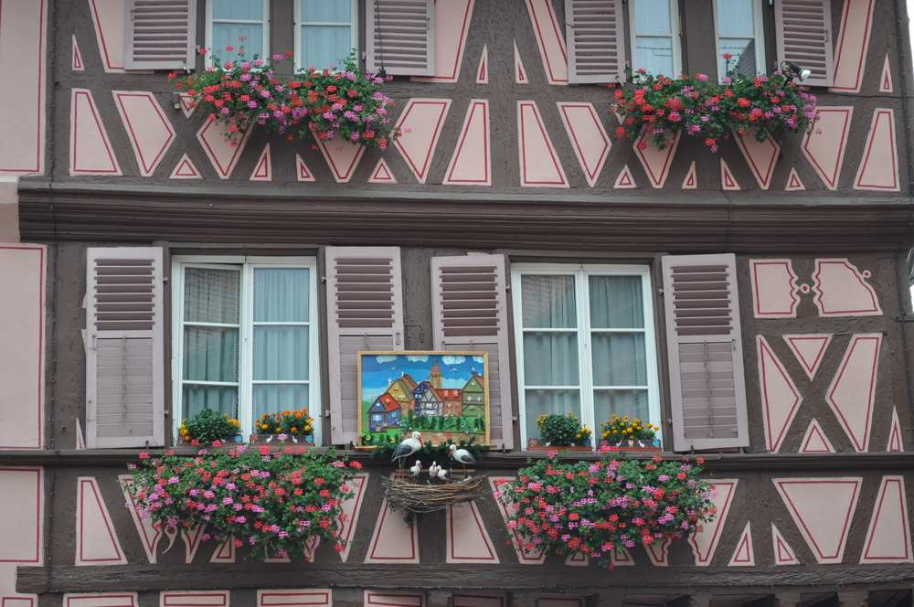 To add to Colmar's enchantment, the storks (accompanied by the legend, of course) are seen throughout the village. Photo: Pamy Rojas