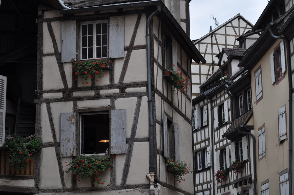 The typical houses of the Quartier des Tanneurs where the tanners lived and worked. Photo: Pamy Rojas