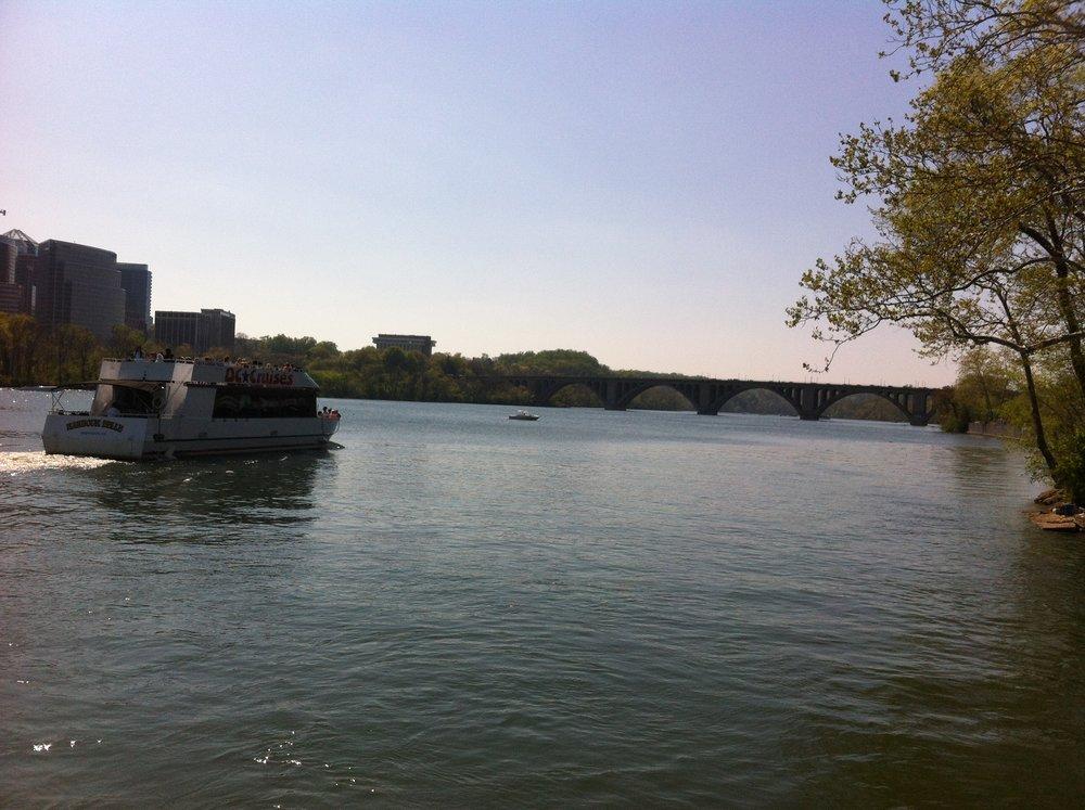 El río Potomac bordea los estados de Maryland, Virginia, Virginia del Oestey Washington D.C. Foto: Bruny Nieves