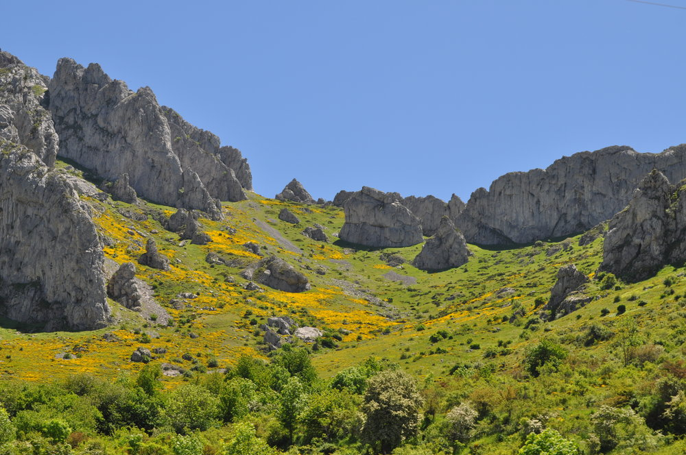 El paisaje de nuestro recorrido por la ruta Castilla-León.
