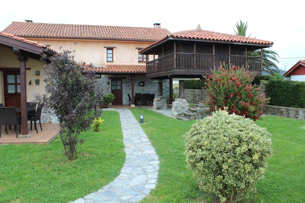 Casa Abuelo, nuestro hospedaje por dos noches en Oviñana.