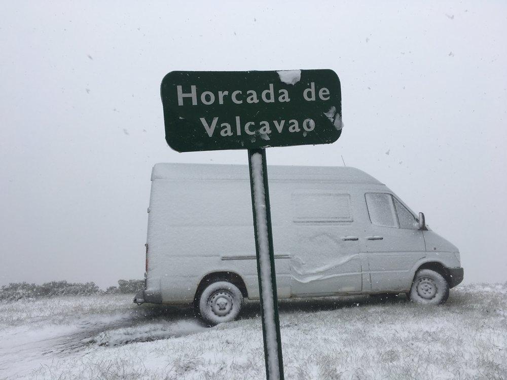 Nieve en junio,Horcada del Valcavao, Picos de Europa.