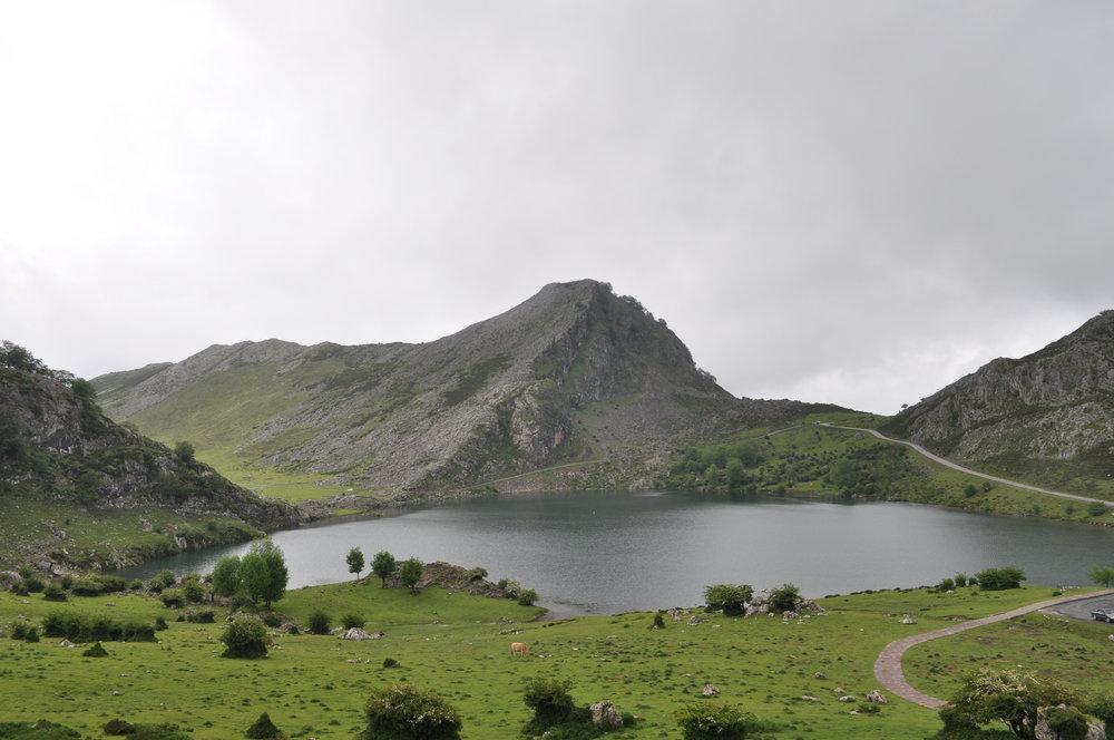 Recorrido por los lagos Enol y Ercina, Lagos de Covadonga, Cangas de Onís.