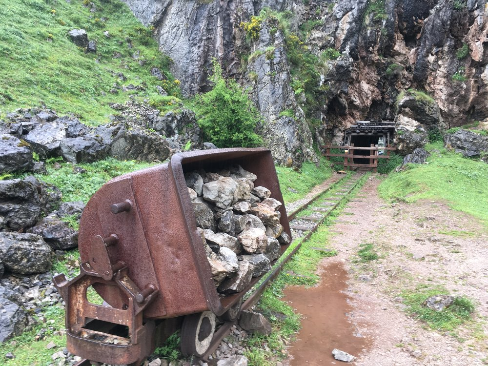 Minas de Buferrera en la ruta de los lagos Lagos de Covadonga,Cangas de Onís.