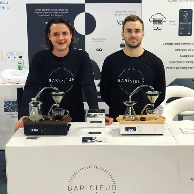 @ces it was a pleasure! Thanks for having us and @barisieur for the 2nd year. It was a crazy week with a lot of interest. Thank you @kickstarter for the award 🙏 Very livid @kanyewestt_official was only around the corner from our stand 😭