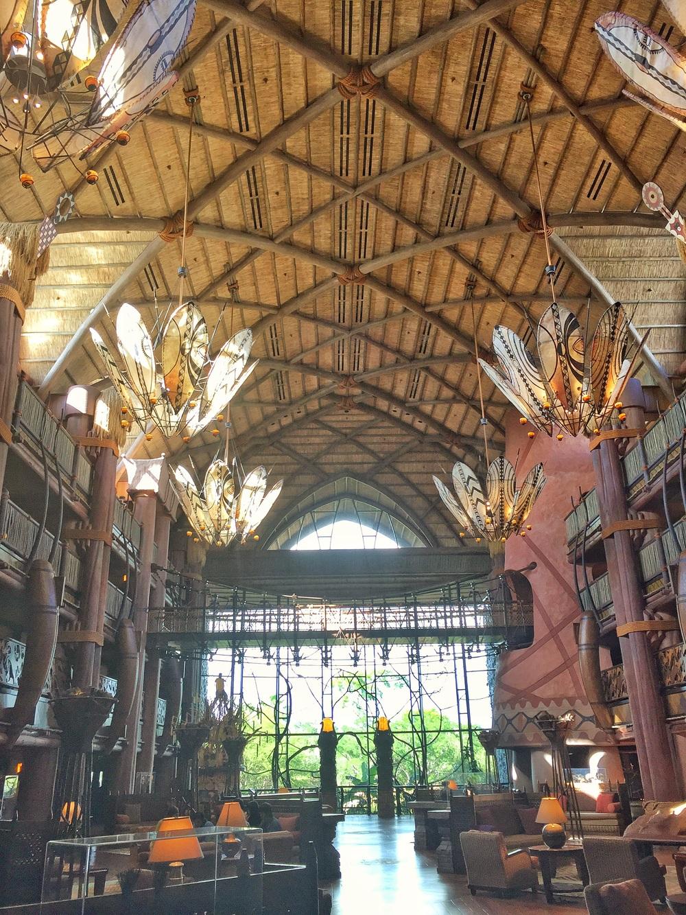 Lobby, Animal Kingdom Lodge