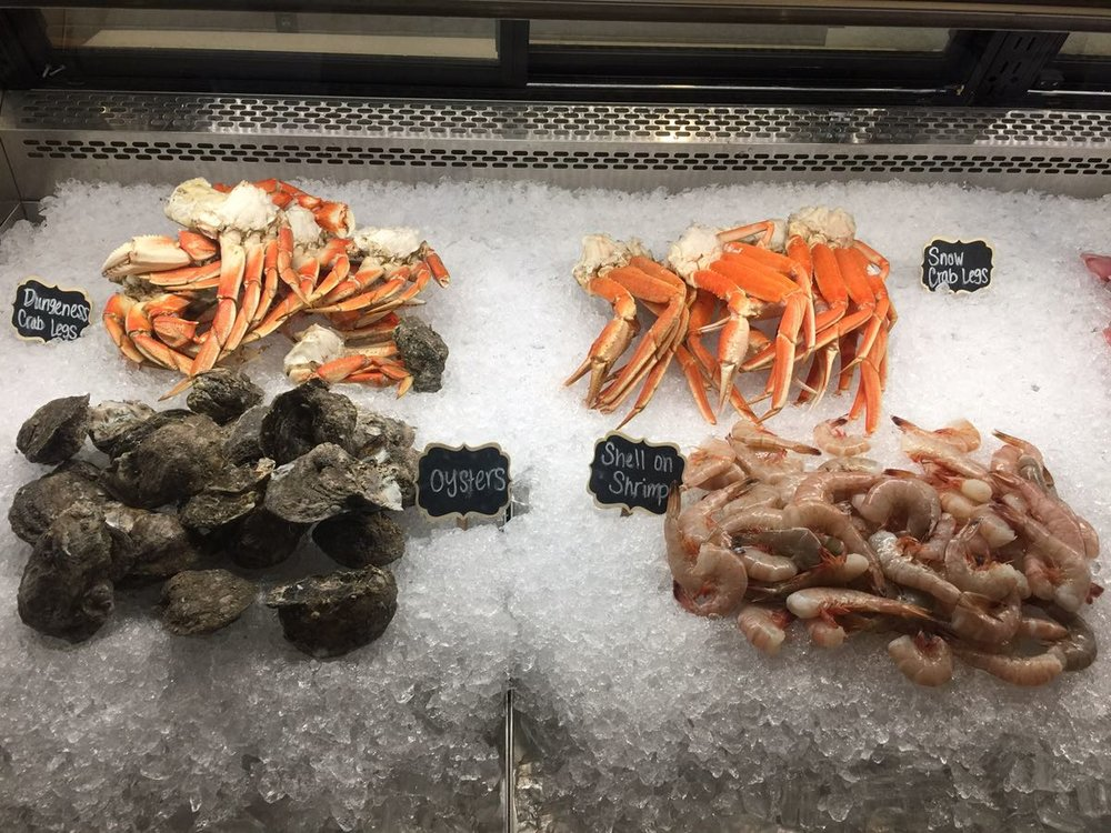I will fall for a freezer of seafood--any. day.