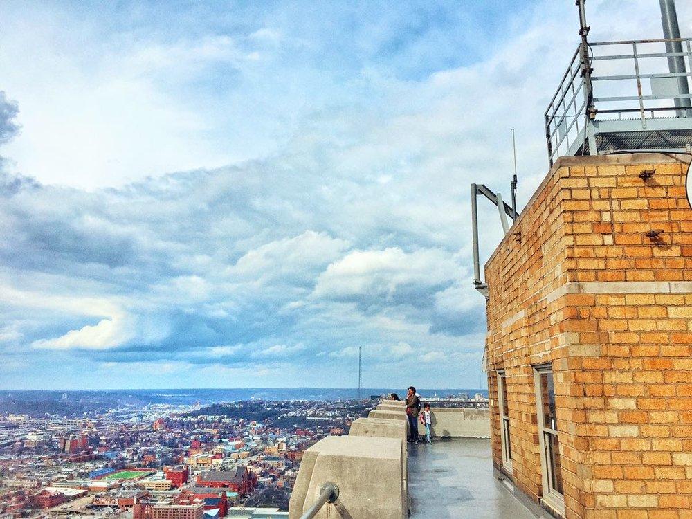 Carew Observation Deck, Cincinnati, Samantha Nelson Photography
