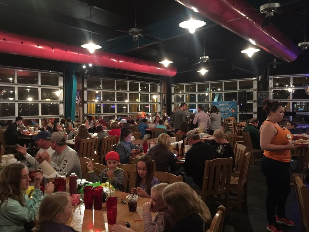 All the family fun is here at Lulu's Gulf Shores #thosecrazynelsons