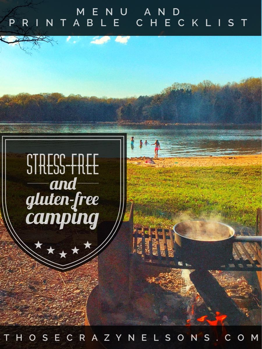 tips for stress free and gluten free camping this spring those